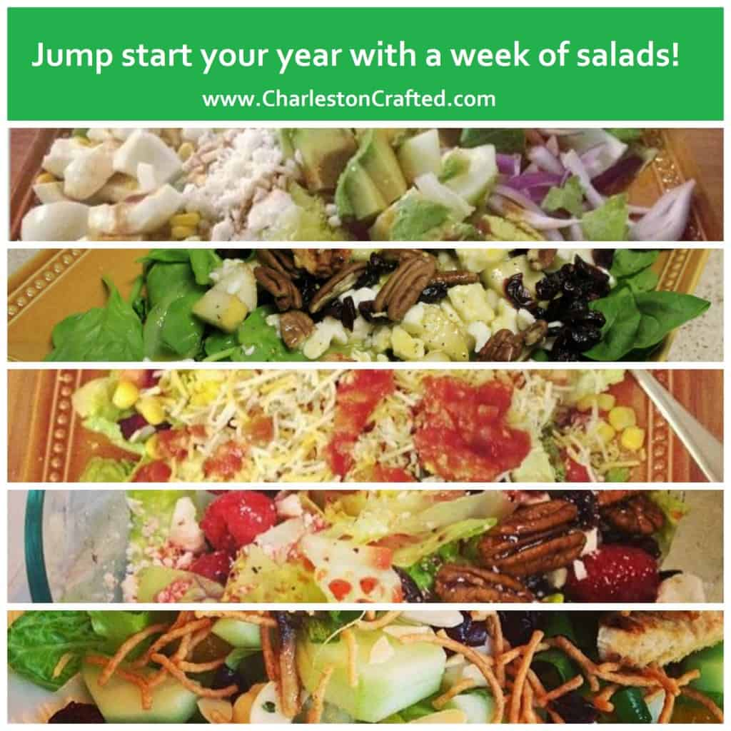 Jump Start Your New Year with a Week of Salads - Charleston Crafted