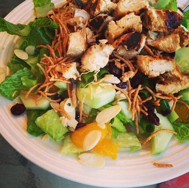 Asian Chicken Salad - Charleston Crafted