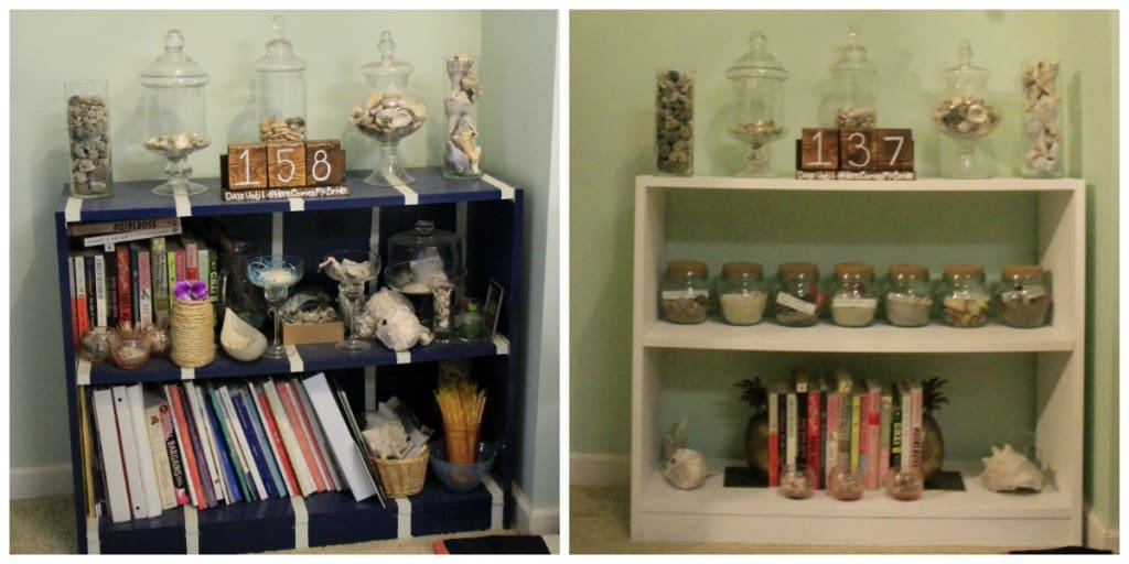 updating and old shelf - Charleston Crafted