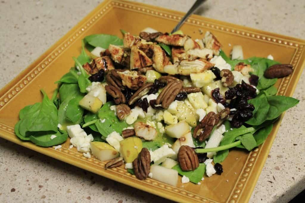 Fall Harvest Salad - Charleston Crafted