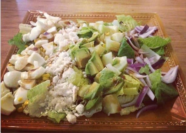 Vegetarian Cobb Salad - Charleston Crafted