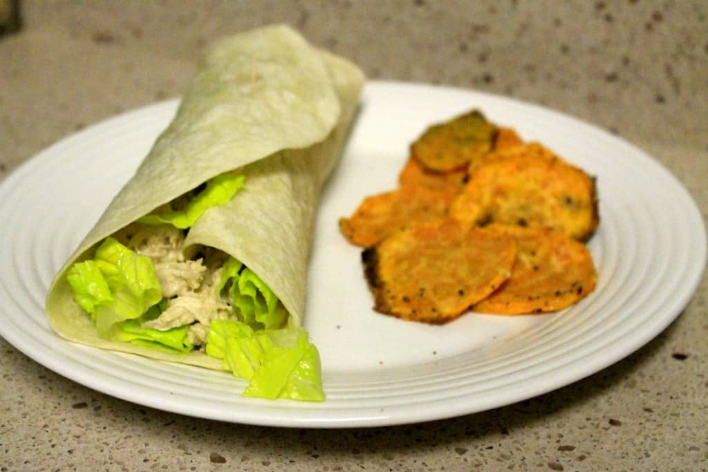 Crock Pot Chicken Caesar Wraps - Charleston Crafted