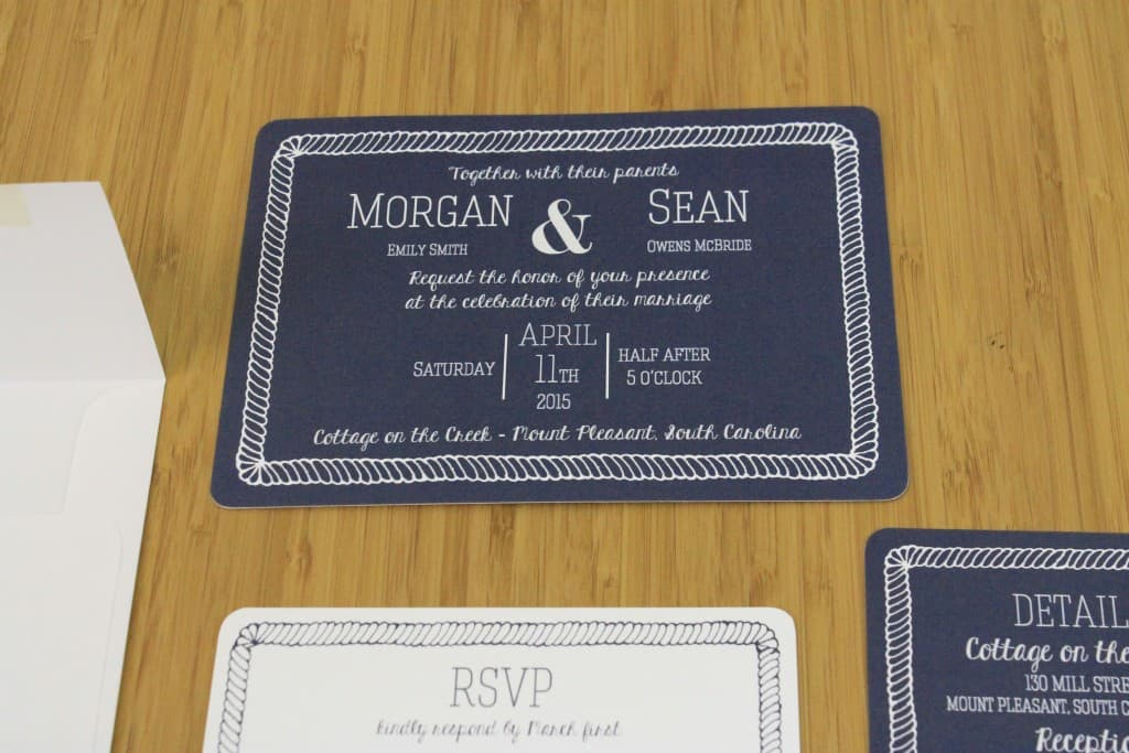 Invitations - Charleston Crafted