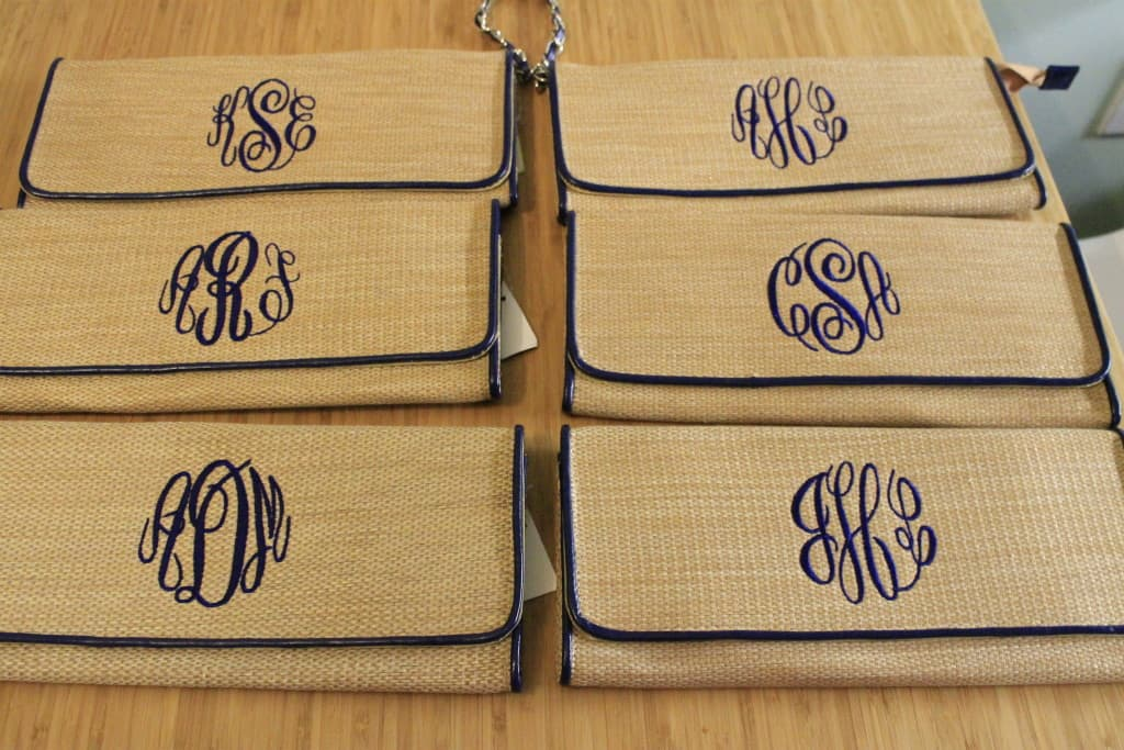 Bridesmaids Gift Bags - Charleston Crafted