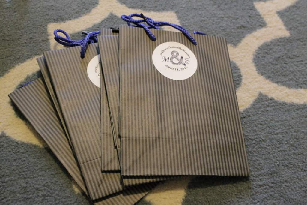 Wedding Welcome Bags - Charleston Crafted