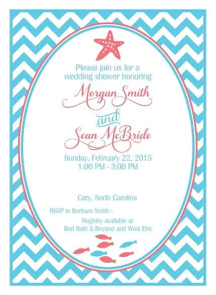 Wedding Shower Invitation - Charleston Crafted