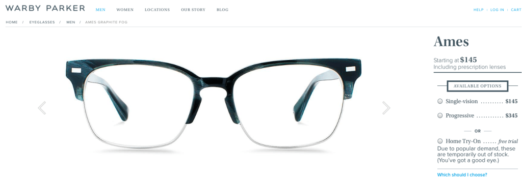 Men's Eyeglasses - Charleston Crafted
