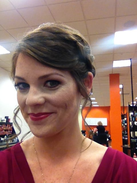 Wedding Hair and Makeup Trial - Charleston Crafted