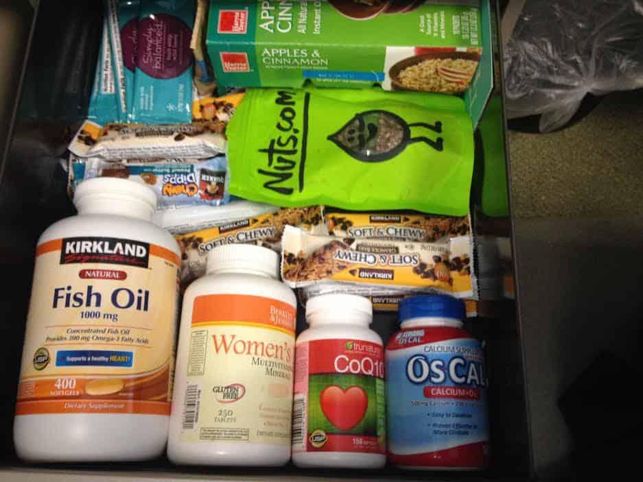 vitamin regime