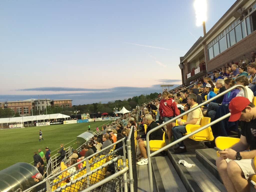 Charleston Battery Soccer Game