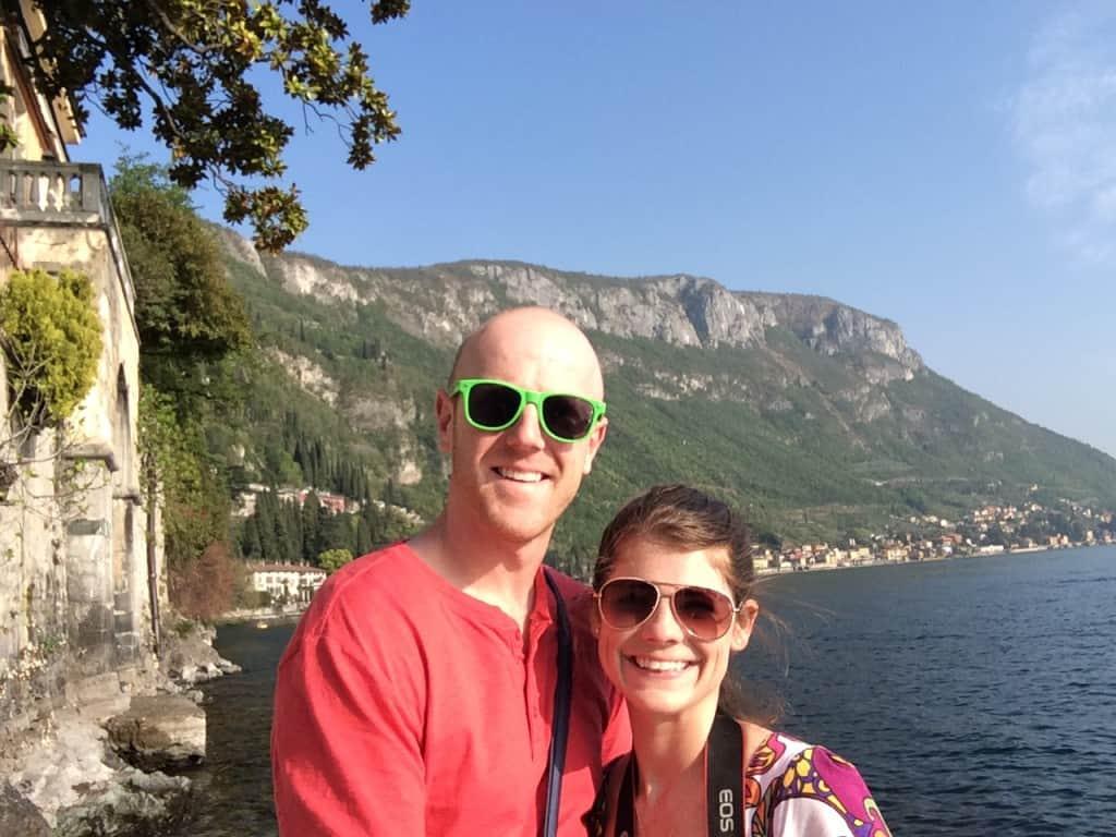 Italian Honeymoon - Lake Como