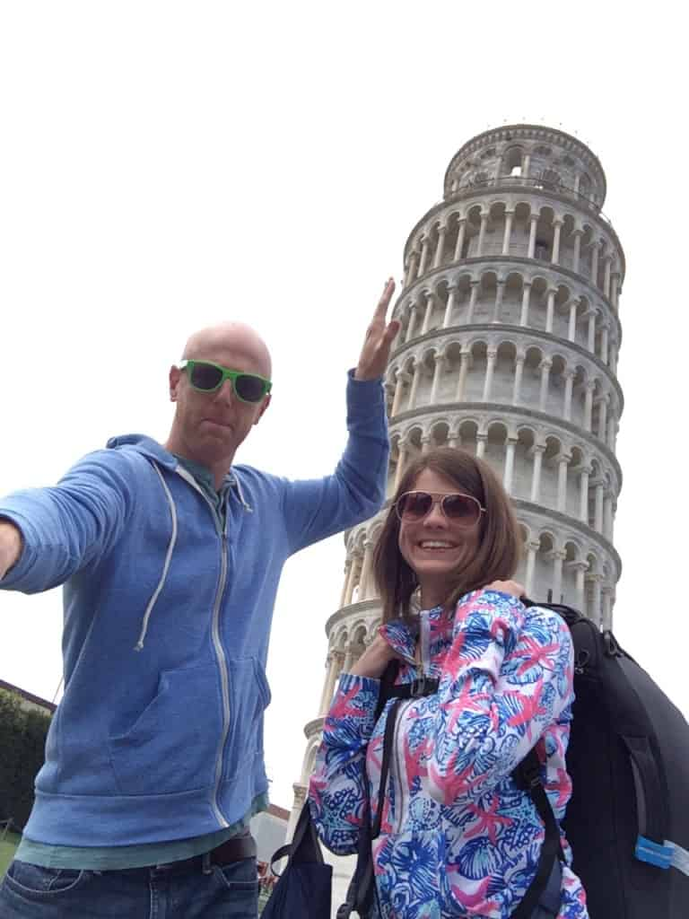 Leaning Tower of Pisa - Charleston Crafted