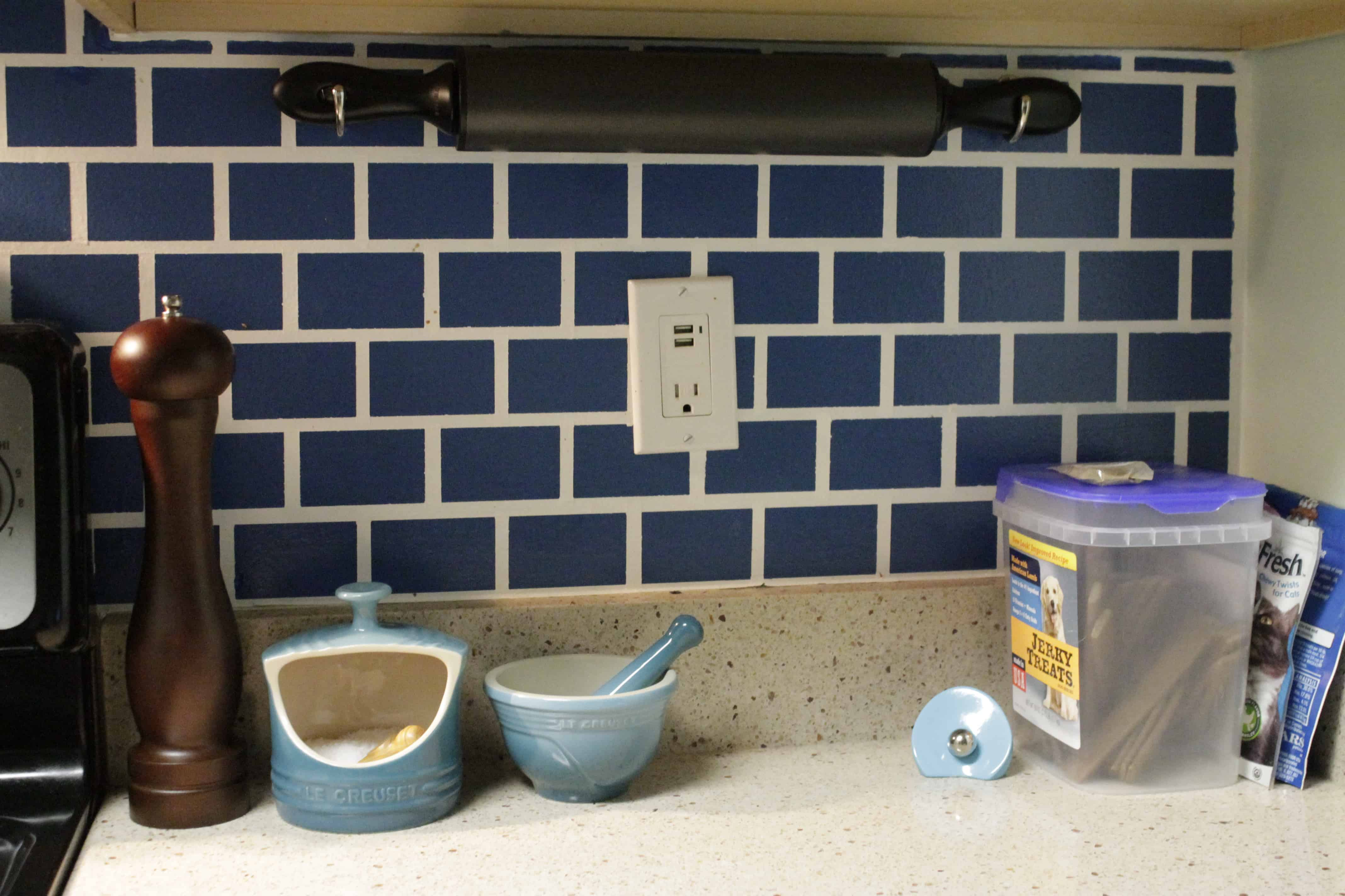 Wall Mounting a Rolling Pin
