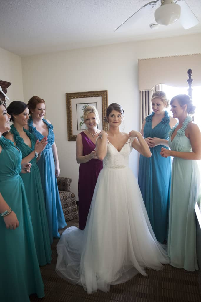 Getting Dressed for the Wedding - Charleston Crafted