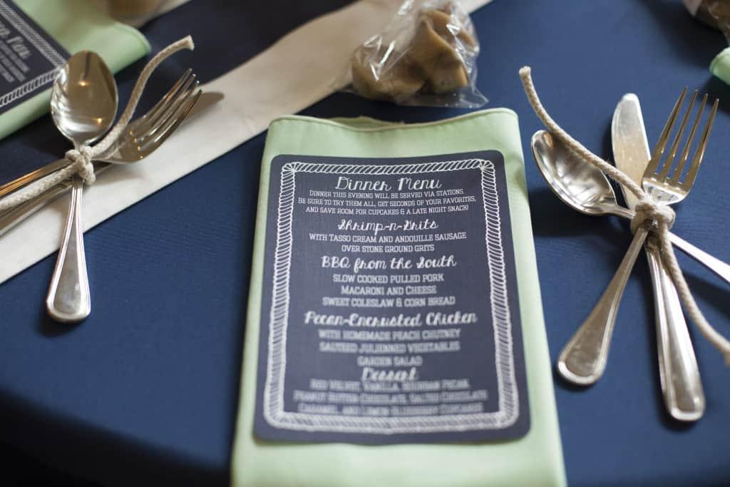 Reception Decor Details - Charleston Crafted