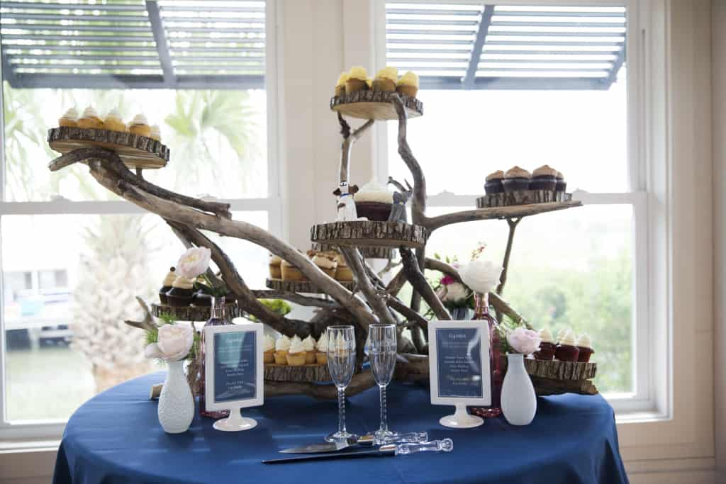Reception Decor Details - Charleston Crafted