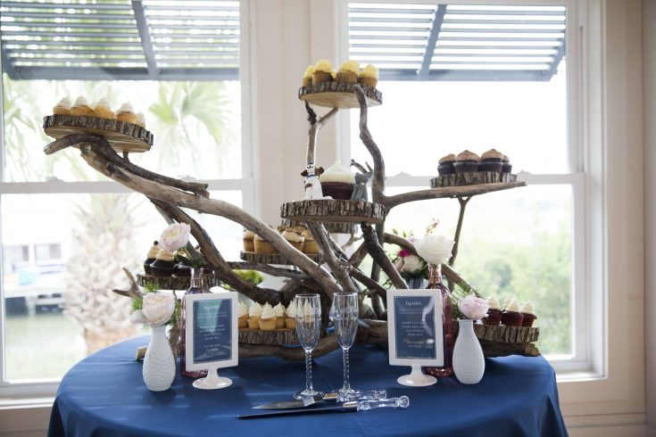 Building a Driftwood Cake Display