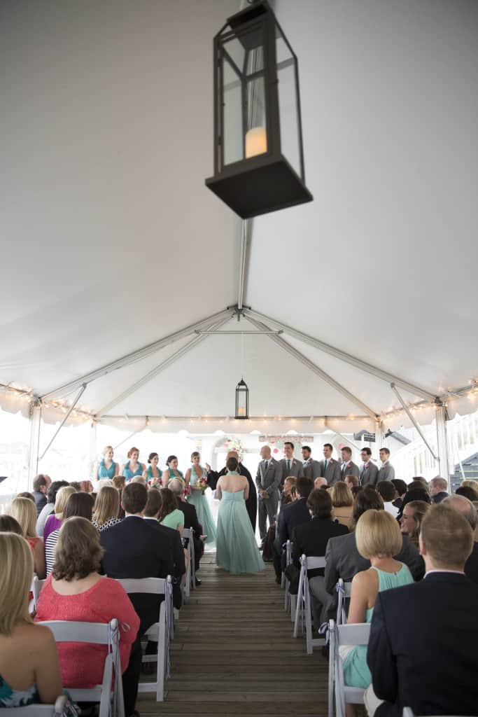 #HereComesMcBride Wedding Ceremony - Charleston Crafted