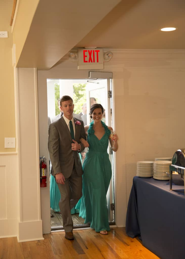#HereComesMcBride Grand Entrance - Charleston Crafted
