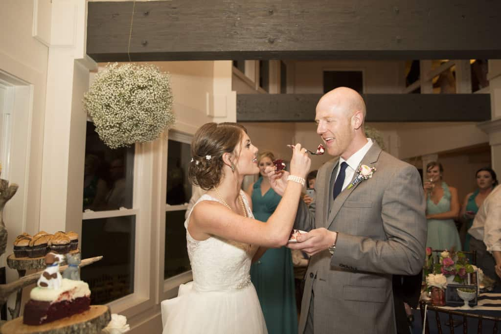 #HereComesMcBride Toasts and Cake Cutting - Charleston Crafted