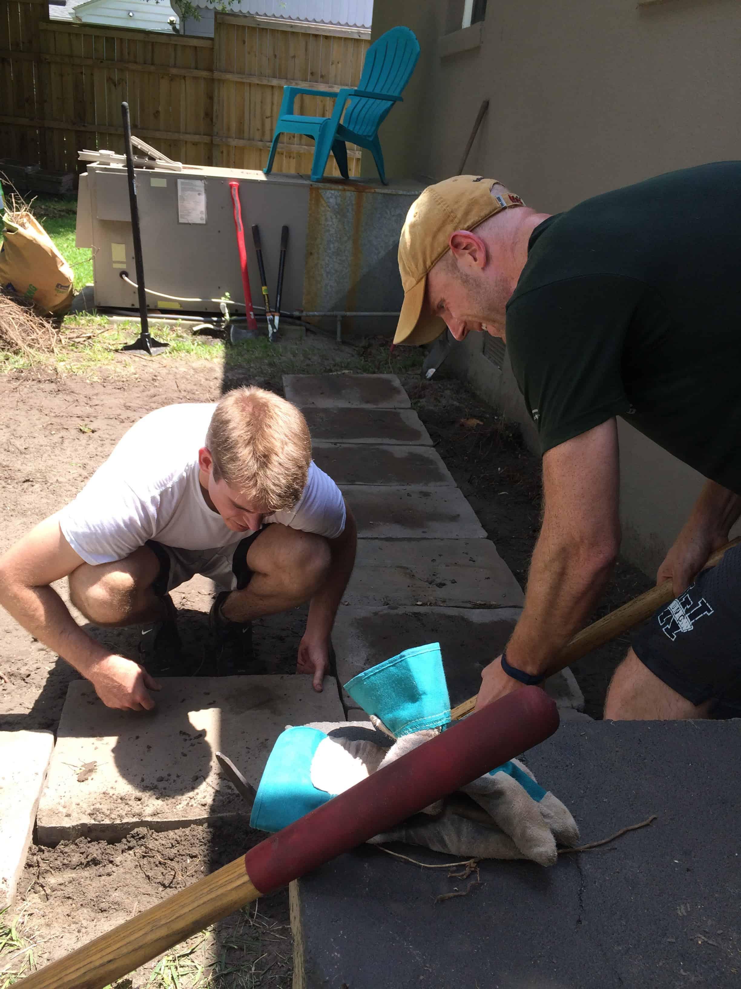 Building an Outdoor Patio!