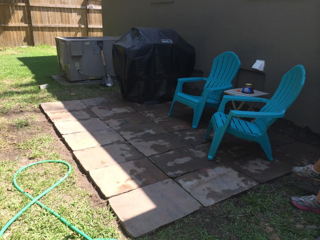 Building an Outdoor Patio - Charleston Crafted