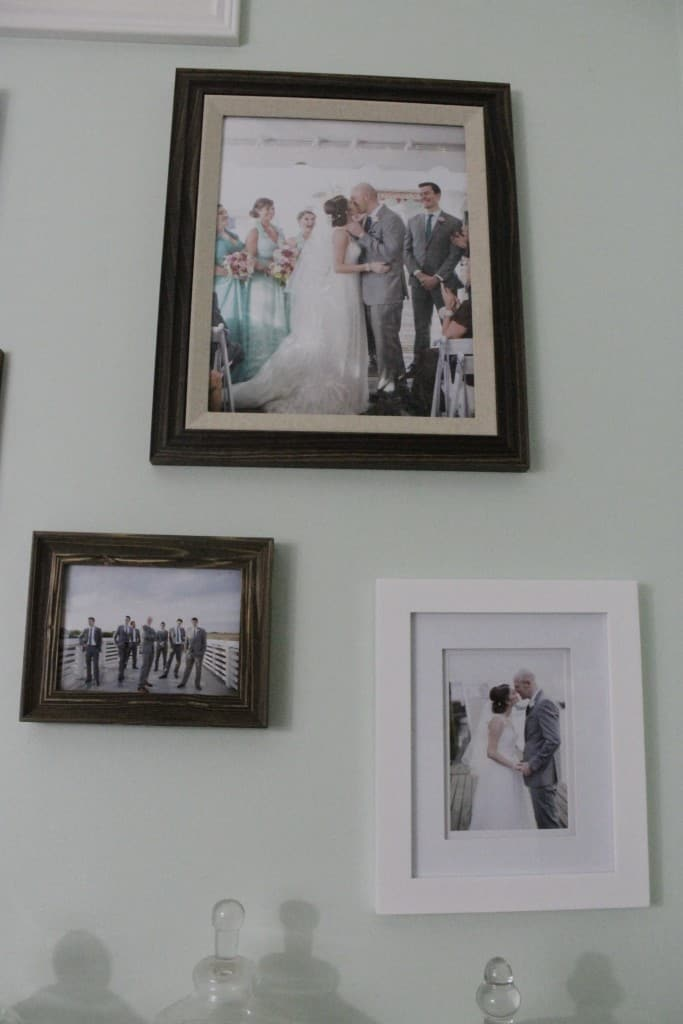 Wedding Gallery Wall - Charleston Crafted