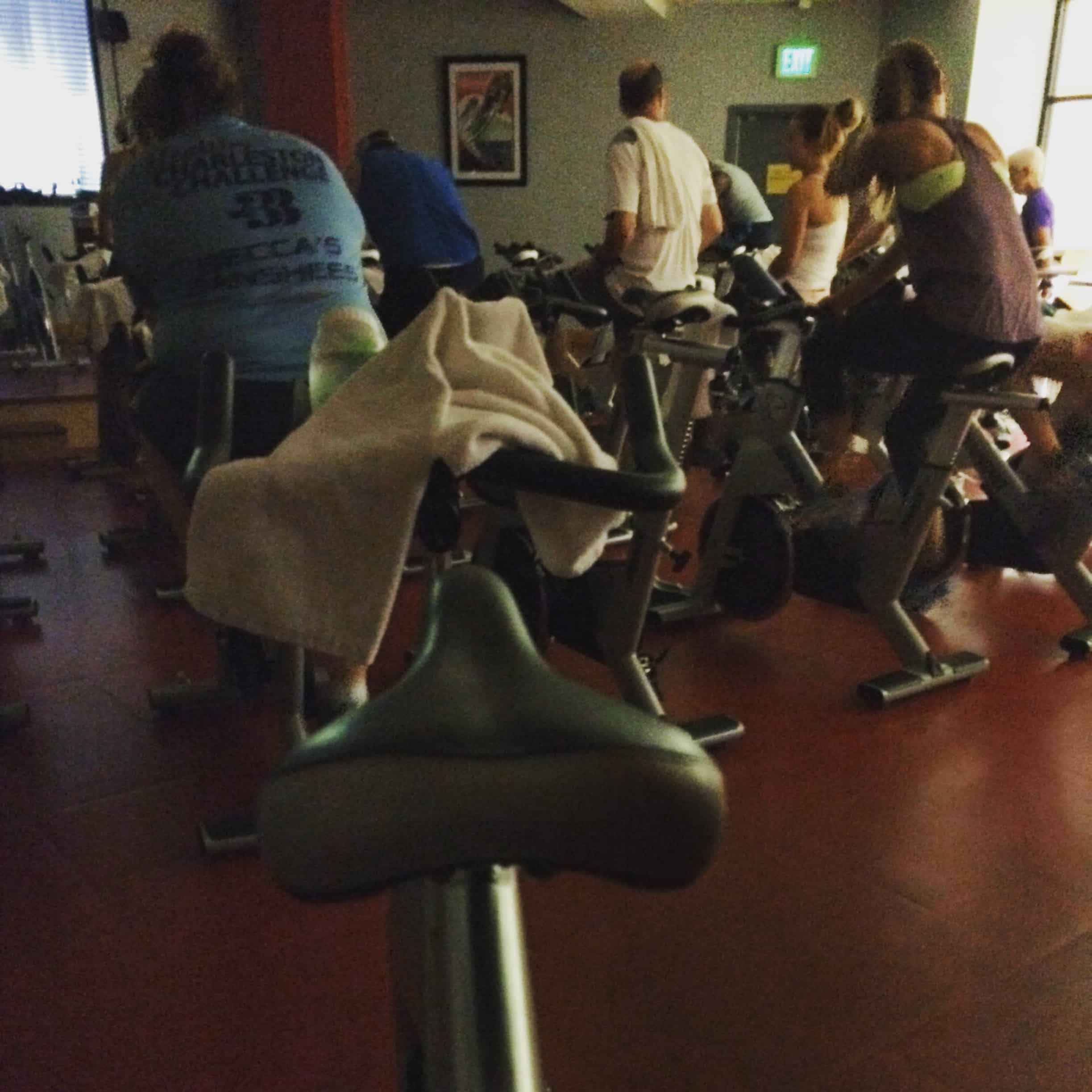 Spin Class is for Boys Too...