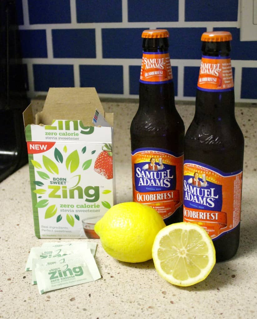 Zing Stevia Beer Cocktail - Charleston Crafted