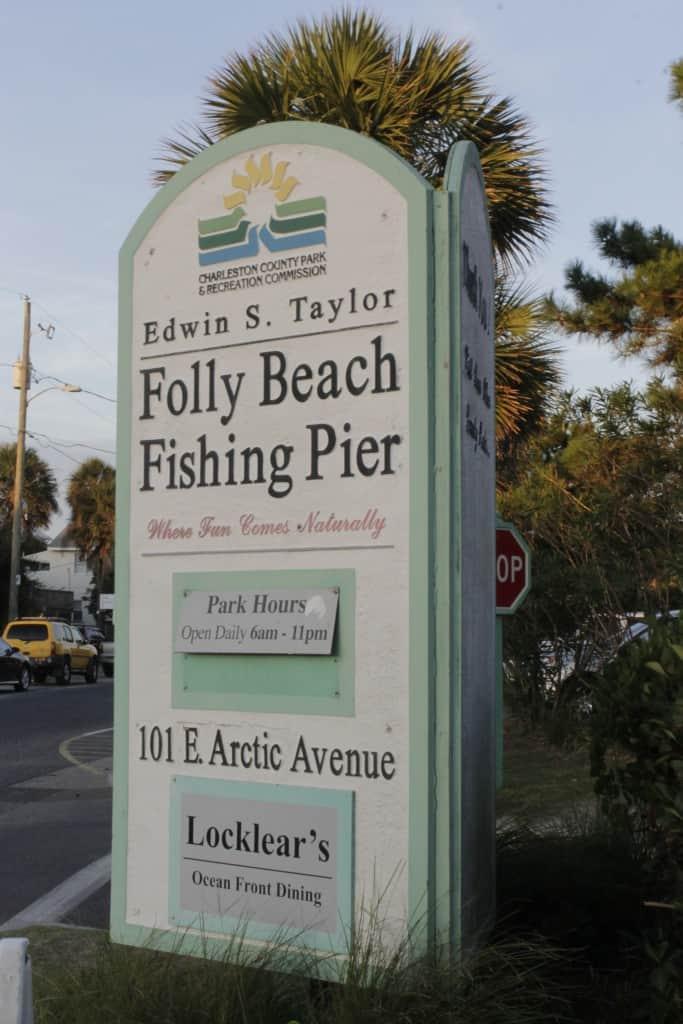 Folly Beach Fishing Pier - Charleston Crafted