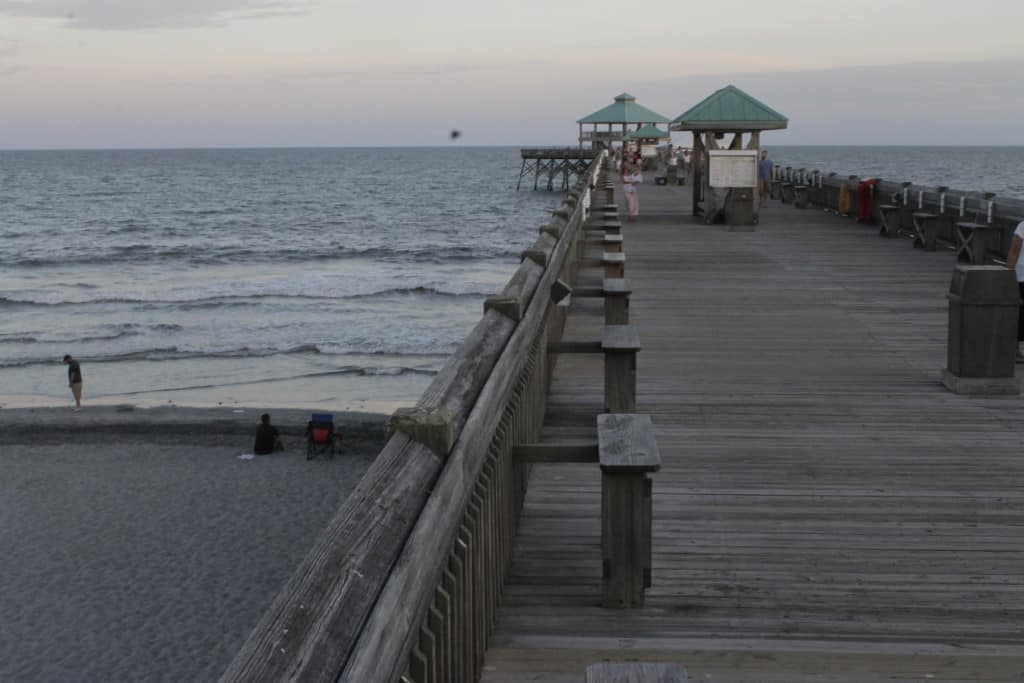 Folly Beach Fishing Pier - Charleston Crafted