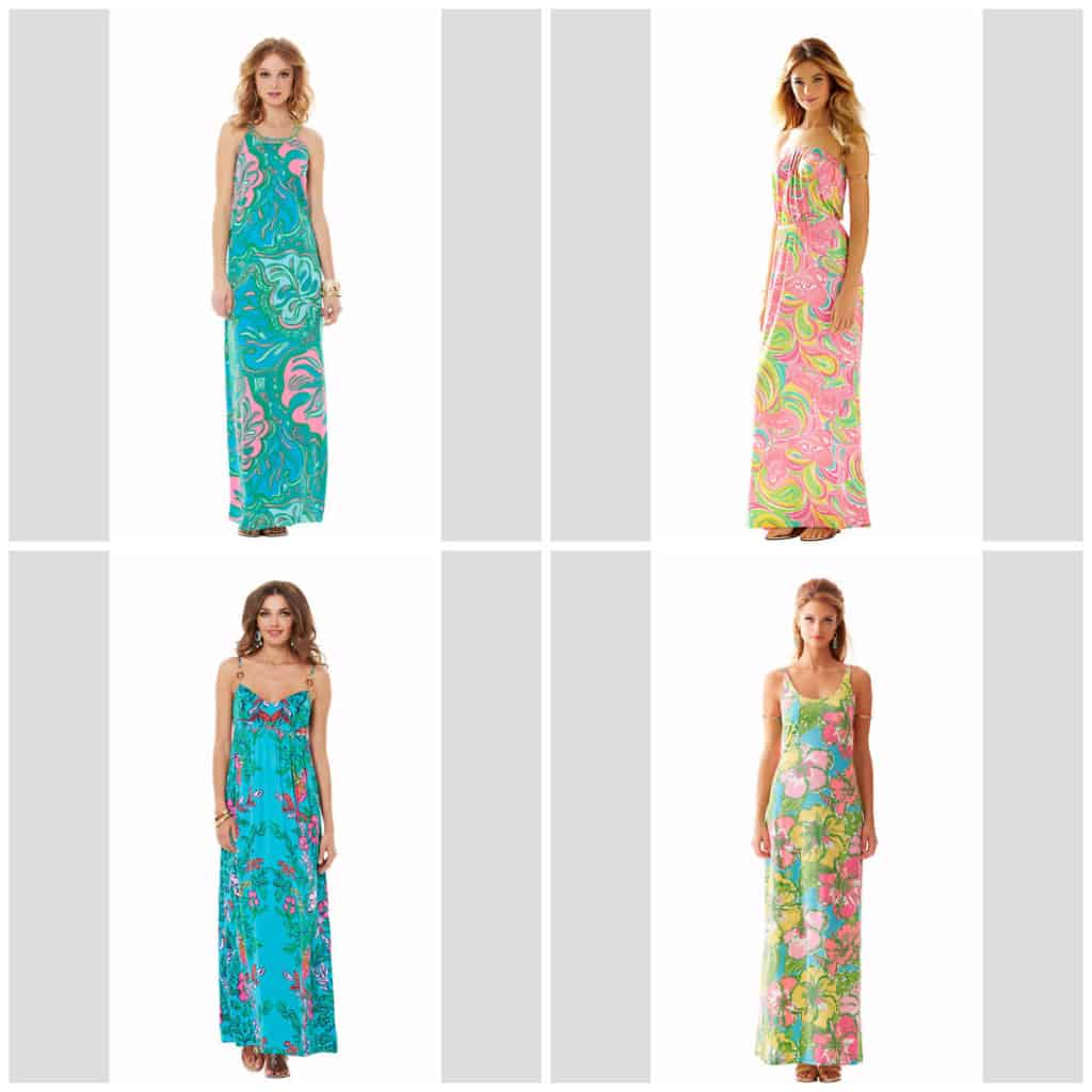 Lilly Pulitzer After Summer Sale maxi dresses