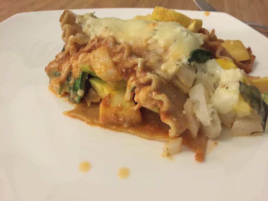 Vegetable Lasagna - Charleston Crafted