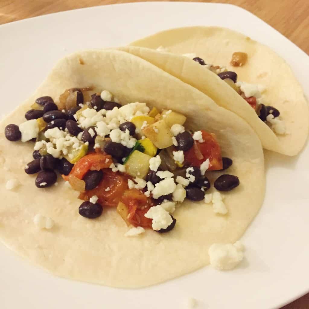 Veggie Tacos - Charleston Crafted