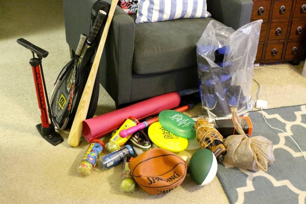 Organizing My Sports Equipment - Charleston Crafted