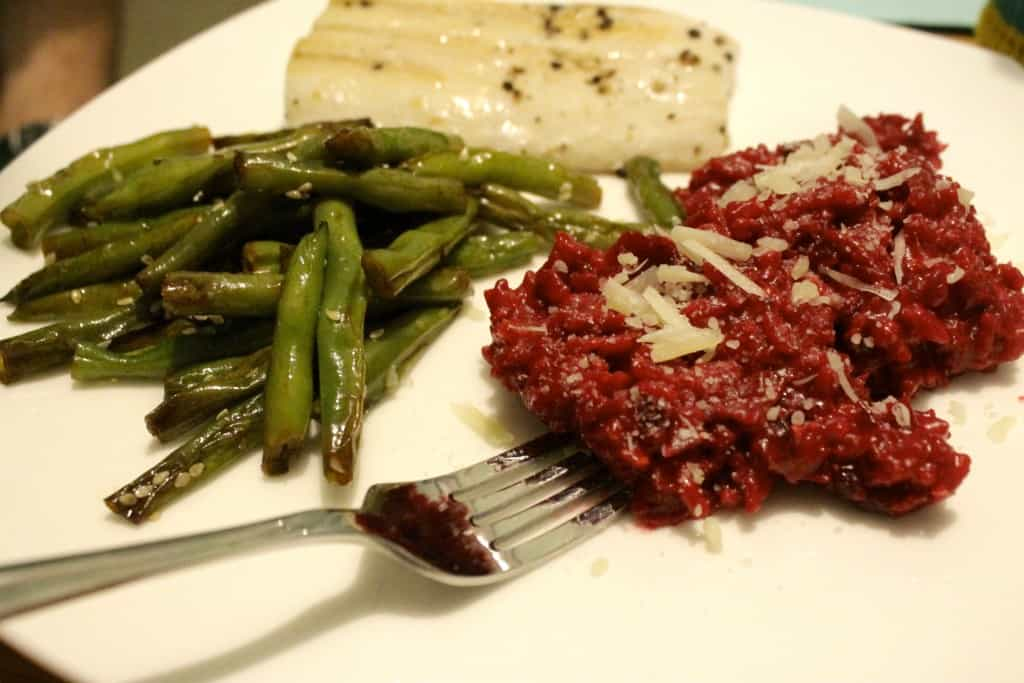 Beet Risotto - Charleston Crafted