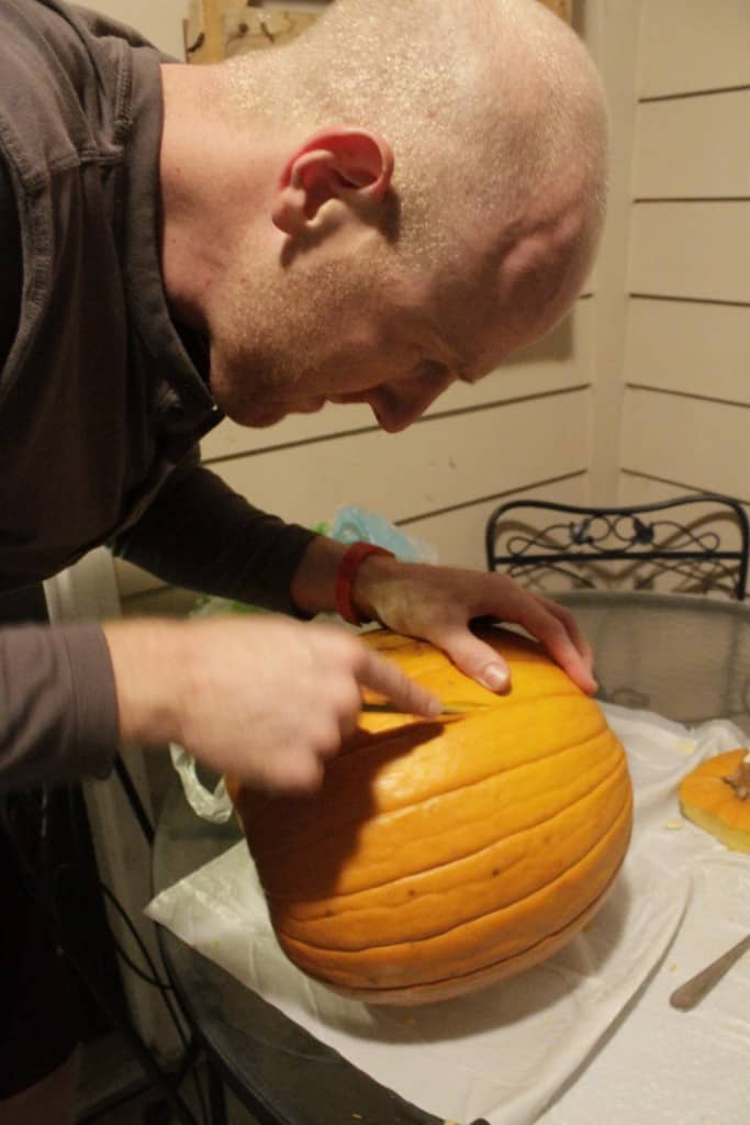 Trying New Ways to Carve Pumpkins - Charleston Crafted