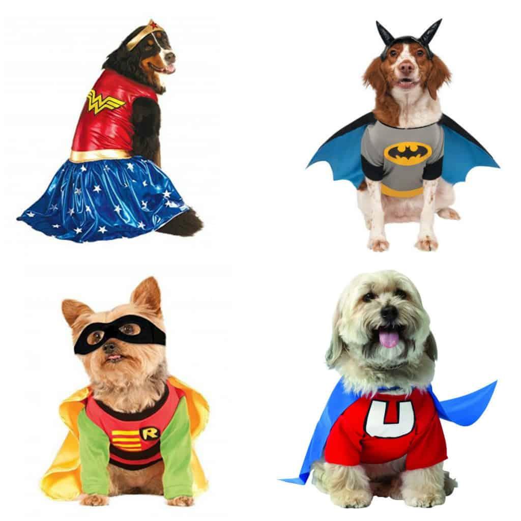 super hero pet costumes