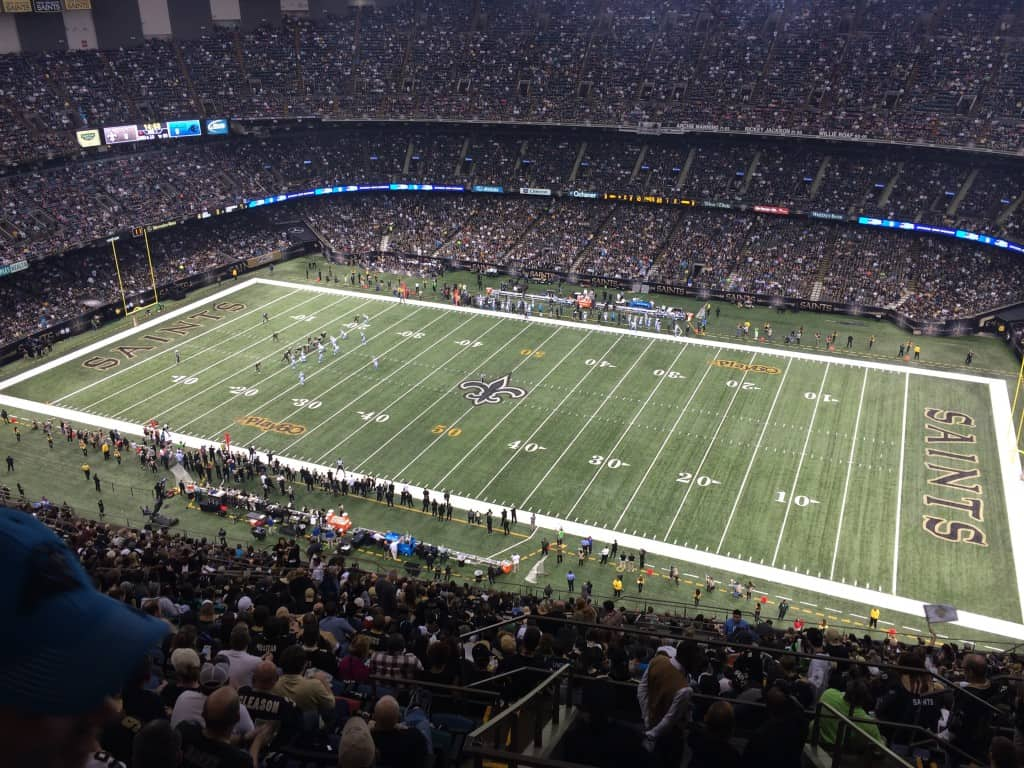 Trip to New Orleans to Watch the Panthers - Charleston Crafted