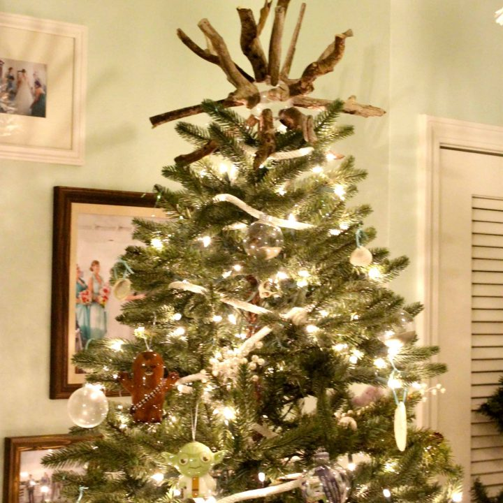 How to make a Driftwood Tree Topper