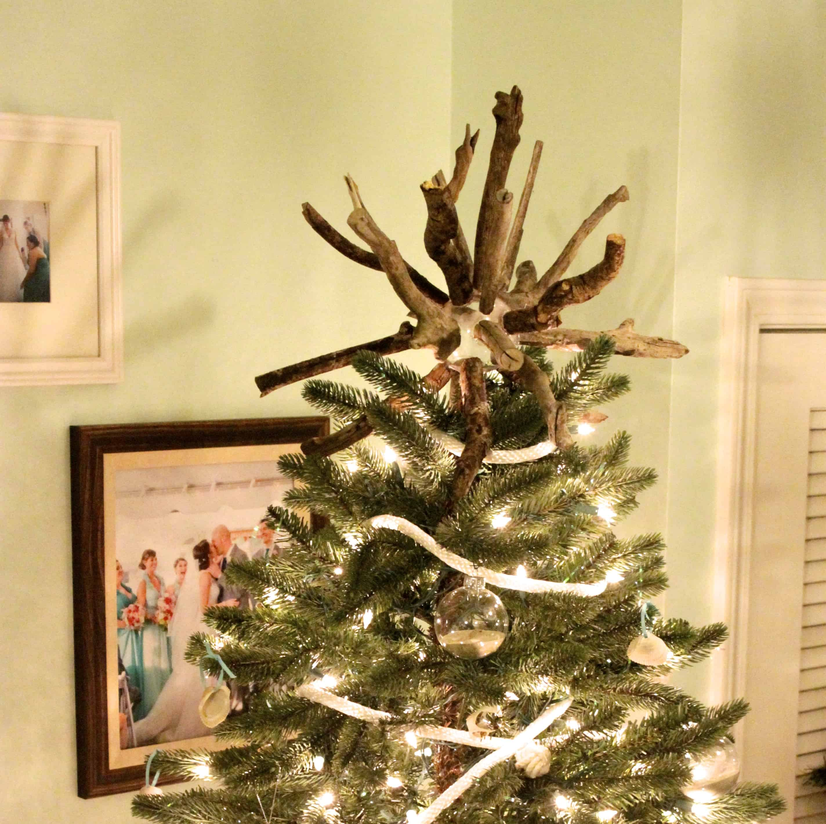 DIY Stick Tree Topper