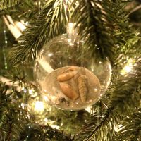 How to make DIY Beach Christmas Ornaments