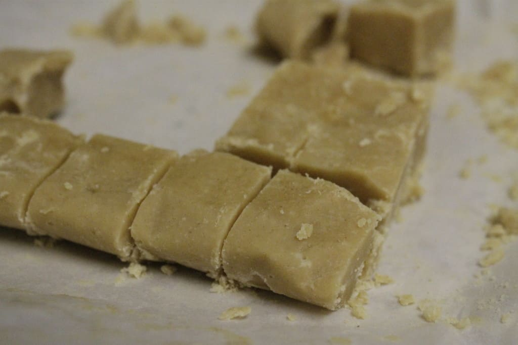 homemade peanut butter fudge - Charleston Crafted