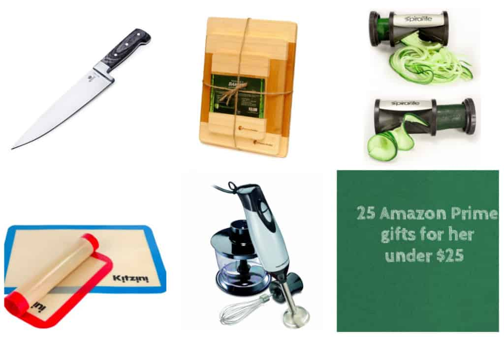 25 Ladies Gift Ideas Under $25, all on Amazon Prime! - Cooking - Charleston Crafted