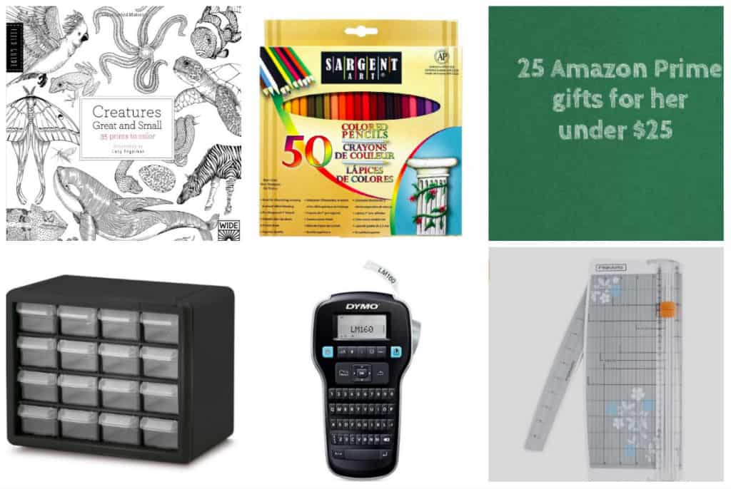 25 Ladies Gift Ideas Under $25, all on Amazon Prime! - Crafting  - Charleston Crafted