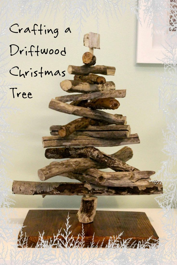 Crafting a Stick Christmas Tree