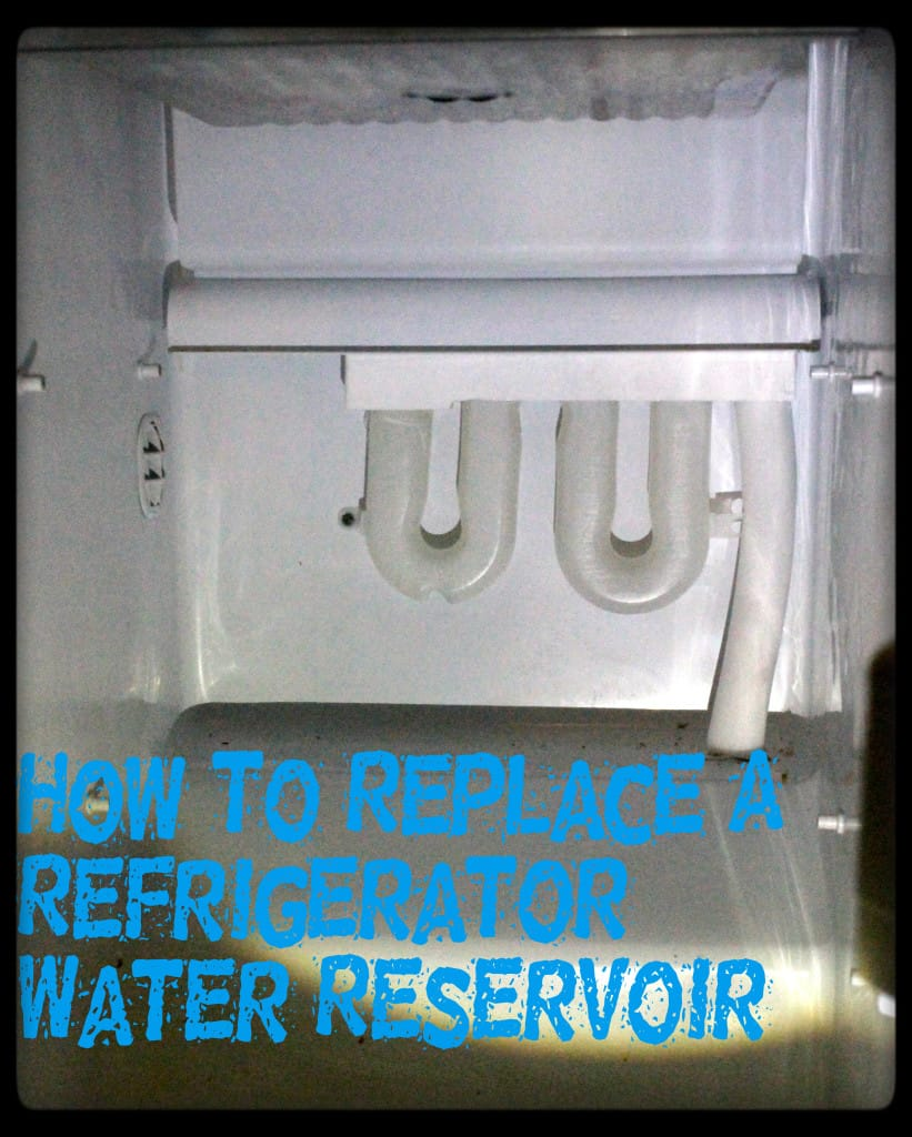 How To Replace A Refrigerator Water Reservoir - Charleston Crafted