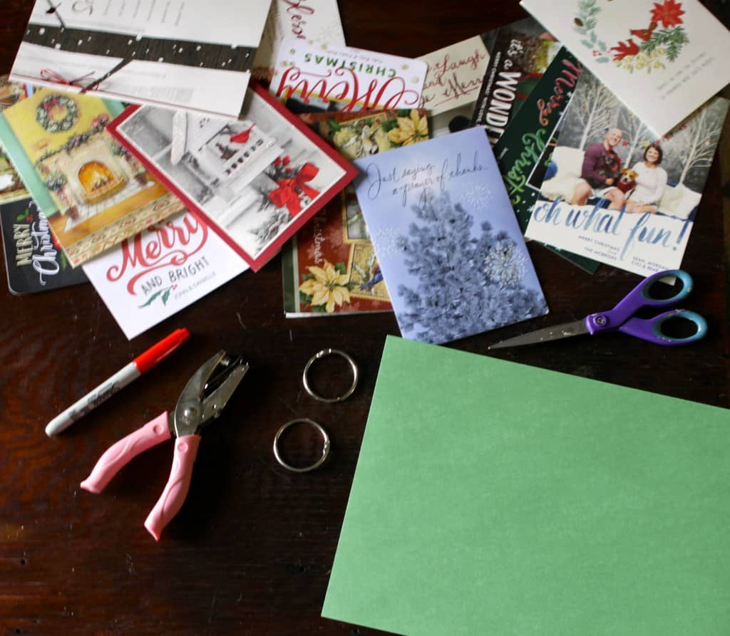 Storing Our Holiday Cards - Charleston Crafted