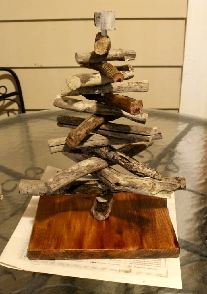 Crafting a Driftwood Christmas Tree - Charleston Crafted