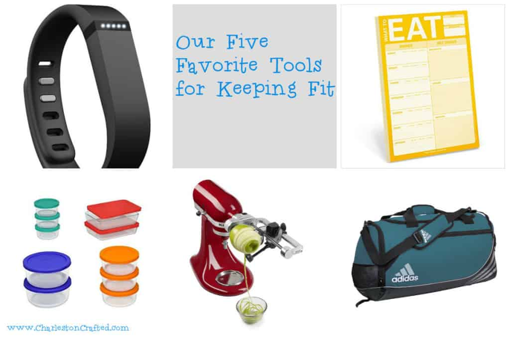 Our Five Favorite Tools for Keeping Fit - Charleston Crafted
